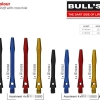 BULL'S Simplex Aluminium Shaft Medium stahl 53305 Gruppe 1