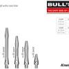 BULL'S Simplex Aluminium Shaft X-Short silber 53427 Gruppe 1