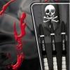 BULL'S Skull S1 Soft Dart 16g silber 17826 Verpackung 1