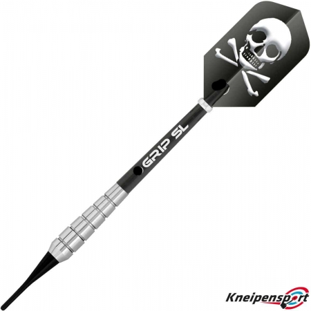 BULL'S Skull S1 Soft Dart 16g silber 17826 Featured 1