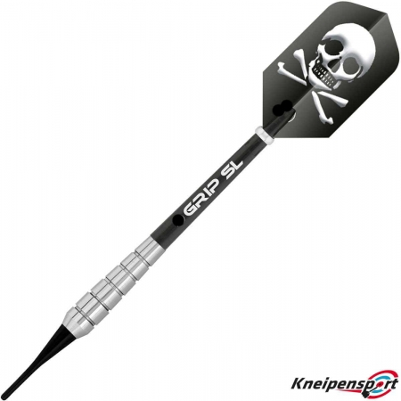 BULL'S Skull S1 Soft Dart 18g silber 17828 Featured 1