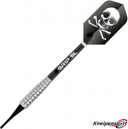 BULL'S Skull S2 Soft Dart 16g silber 17836 Featured 1