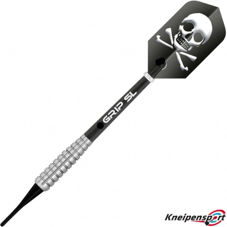 BULL'S Skull S2 Soft Dart 18g silber 17838 Featured 1