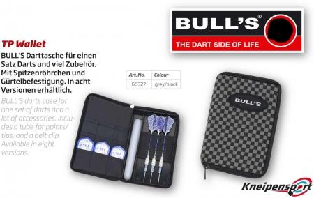 "BULL'S TP Dartcase ""Quadrat"" Standard grau 66327 Featured 1"