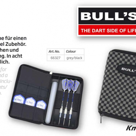 "BULL'S TP Dartcase ""Quadrat"" Standard grau 66327 Featured 1"