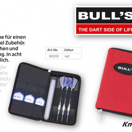 BULL'S TP Dartcase Standard rot 66333 Featured 1