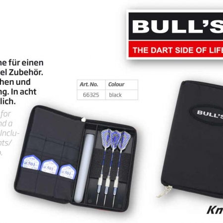 BULL'S TP Dartcase Standard schwarz 66325 Featured 1