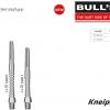 BULL'S Tecno Aluminium Shaft Short silber 53817 Gruppe 1