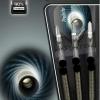 BULL'S Titanium Predartor P1 Steel Dart 22g schwarz 14212 Verpackung 1