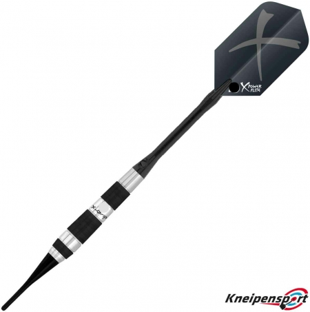 BULL'S X-Grip X4 Soft Dart 16g schwarz