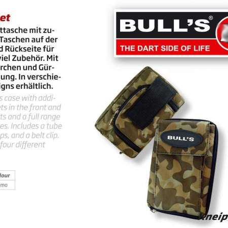 "Bulls Darttasche MP ""Camouflage"" Standard design 66344 Featured 1"