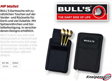 Bulls Darttasche MP Standard schwarz 66340 Featured 1