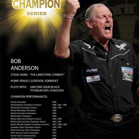 "Poster ""Bob Anderson"" World Champion Standard design 86671 Featured 1"