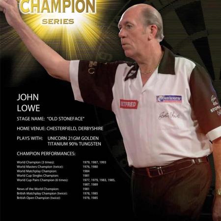 "Poster ""John Lowe"" World Champion Standard design 86519 Featured 1"