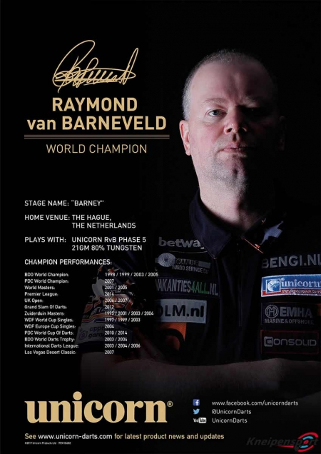 "Poster ""Raymon van Barneveld"" Standard design 86681 Featured 1"