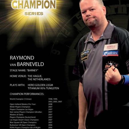 "Poster ""Raymon van Barneveld"" World Champion Standard design 86516 Featured 1"