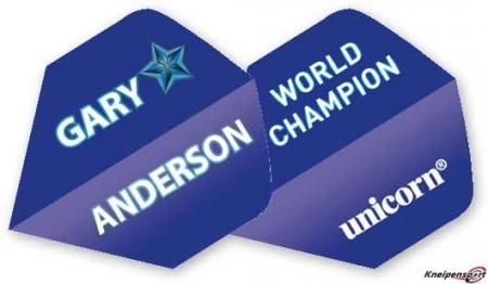 Unicorn Authentic 100 Gary Anderson Flights Big Wing blau 68684 Featured 1