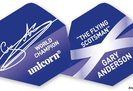 Unicorn Authentic 100 Gary Anderson Flights Slim design 68671 Featured 1