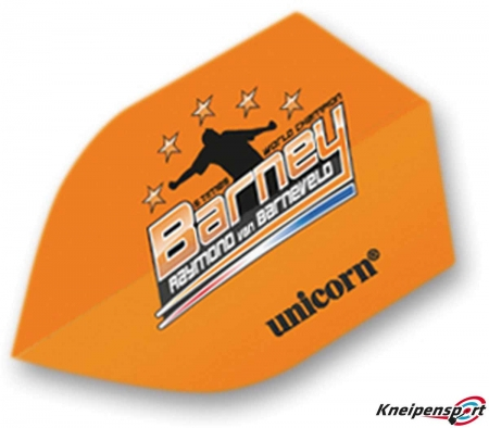 Unicorn Authentic 100 Raymond van Barneveld Flights Shield design 68591 Featured 1