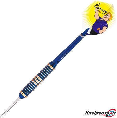 Unicorn Barney Brass Steel Dart 21g blau 07805 Featured 1