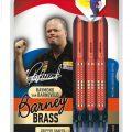 Unicorn Barney Brass Steel Dart 21g rot 07811 Verpackung 1