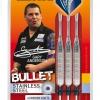 Unicorn Bullet Gary Anderson Steel Dart 22g silber 27326 Verpackung 1