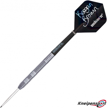 Unicorn Contender Keegan Brown Steel Dart 22g silber 01077 Featured 1