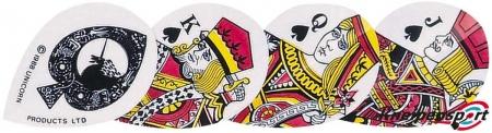 "Unicorn Core 75 Flights ""Black Poker"" Xtra design 77454 Featured 1"