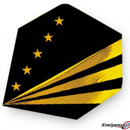 "Unicorn Core 75 Flights ""Golden Stripes"" Plus schwarz"