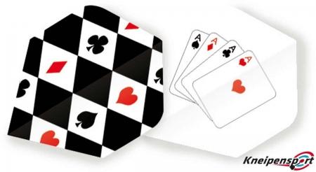 "Unicorn Core 75 Flights ""Poker 4 Kind"" Plus design 68480 Featured 1"