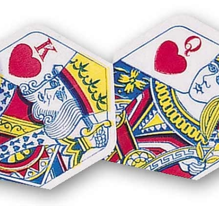 "Unicorn Core 75 Flights ""Poker Heart"" Plus design 77404 Featured 1"