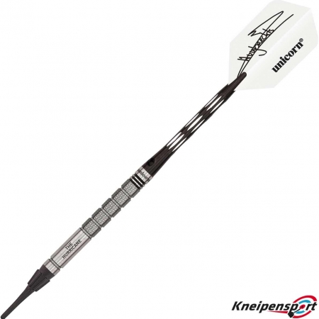 Unicorn Maestro Premier Kim Huybrechts Soft Dart 19g silber 04166 Featured 1