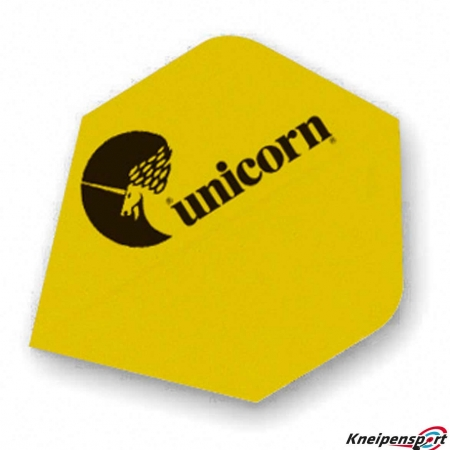 "Unicorn Maetsro 100 Flights ""Unicorn Logo"" Plus gelb 77681 Featured 1"