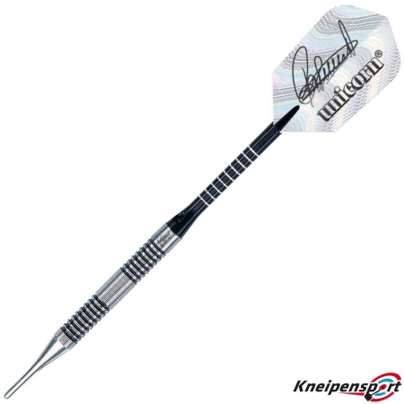 Unicorn Phase 1 World Champion Raymond van Barneveld Soft Dart 17g schwarz