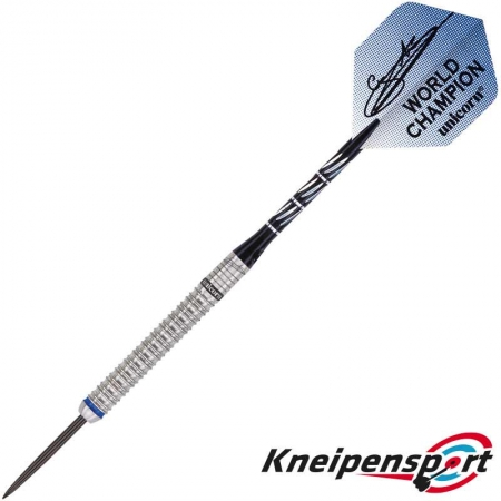 Unicorn Phase 3 World Champion Gary Anderson Steel Dart 21g silber 01066 Featured 1
