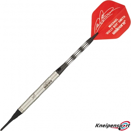 "Unicorn Premier Michael "" BULLY BOY"" Smith Soft Dart 18g silber 04120 Featured 1"