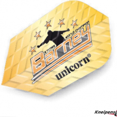 "Unicorn Q 100 Flights ""Raymond van Barneveld"" Slim gold 68501 Featured 1"
