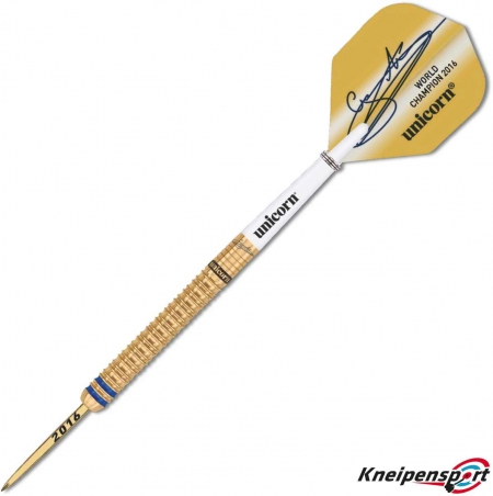 Unicorn World Champion 2016 Gary Anderson Limited Edition 23g gold 02016 Featured 1