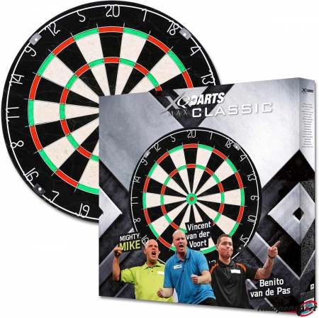 XQMax MvG Dartscheibe Standard multi qd7000010 Featured 1
