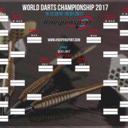 PDC 2017 Spielplan vorschau