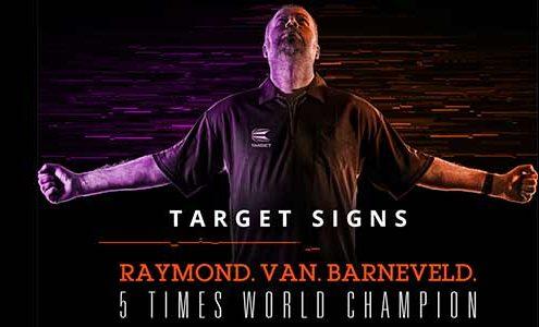 Raymond van Barneveld Target Darts