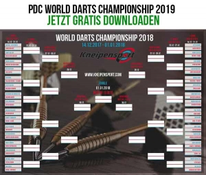 PDC Darts WM2019 Download